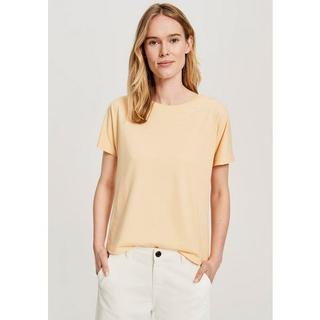 T-shirt Sembro met statement-quote op de schouder
