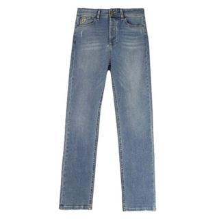 Bio dubbele steen jeans