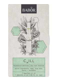Ampoule concentrates Chill - Limited Edition serum ampul set van 7