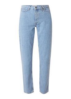 Jadan B high waist cropped mom jeans met lichte wassing