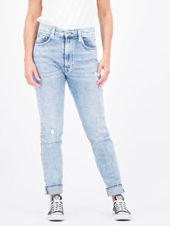 Dames Tapered blauw