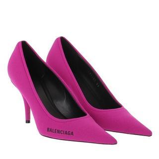 Pumps & high heels - Knige Knit Pumps in pink voor dames