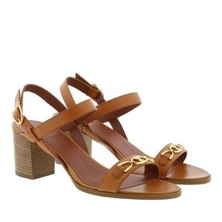 - Triomphe Sandals Leather in bruin voor dames