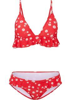 Dames triangel bikini (2-dlg. set) in rood