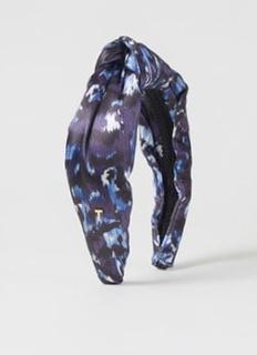 Ana haarband van satijn met print