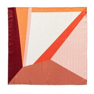 Sjaals & halsdoeken - Colour Block Foulard Scarve in Meerkleurig voor dames