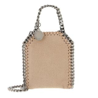 Crossbody bags - Micro Bag Falabella Shaggy Dear in beige voor dames