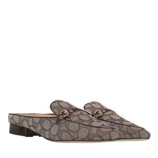 Slippers - Irene Jacquard Mule in brown voor dames