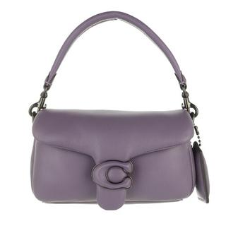 Satchels - Leather Covered C Closure Pillow Tabby Shoulder Ba in purple voor dames