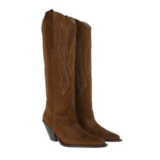 Boots & laarzen - Boots in bruin voor dames