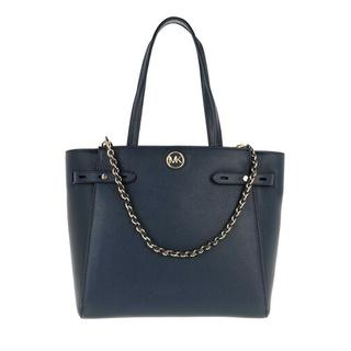 Totes - Large Belted Tote Leather in blauw voor dames