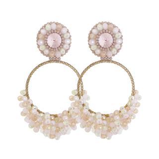 Bellísima - Light Pink Earrings