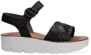 Zwarte Sandalen 7643