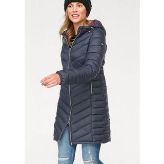 Doorgestikte jas bijzonder licht maar met grote warmteopslagcapaciteit