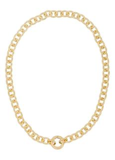 Chunky Circle schakelketting verguld
