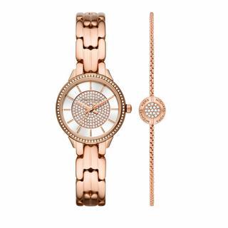 ' Horloges - Women''s Allie Three-Hand Stainless Steel Watch MK1 in roze voor dames'