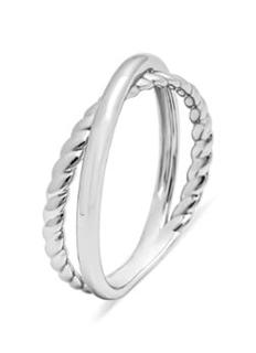 Witgouden ring Circle of Life
