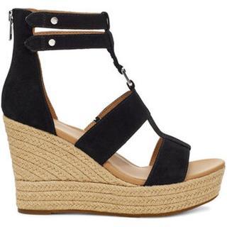 Kolfax Sandalen met Skeehak voor Dames in Black