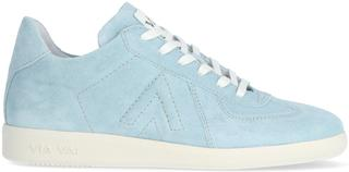 Blauwe Lage Sneakers Nilla Sleek