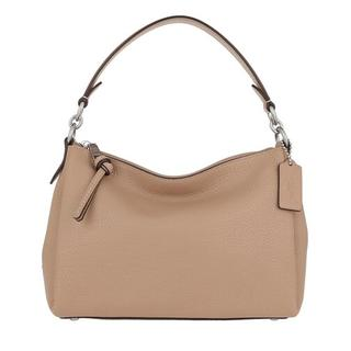 Hobo bags - Soft Pebble Shay Crossbody in taupe voor dames
