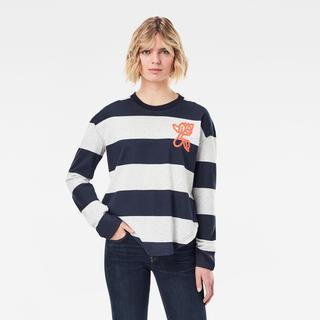 Striped Tweater - Loose Fit