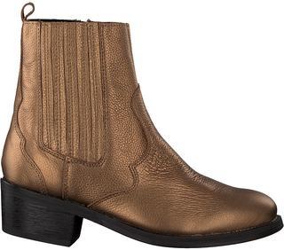 Gouden Chelsea Boots Lpmustang
