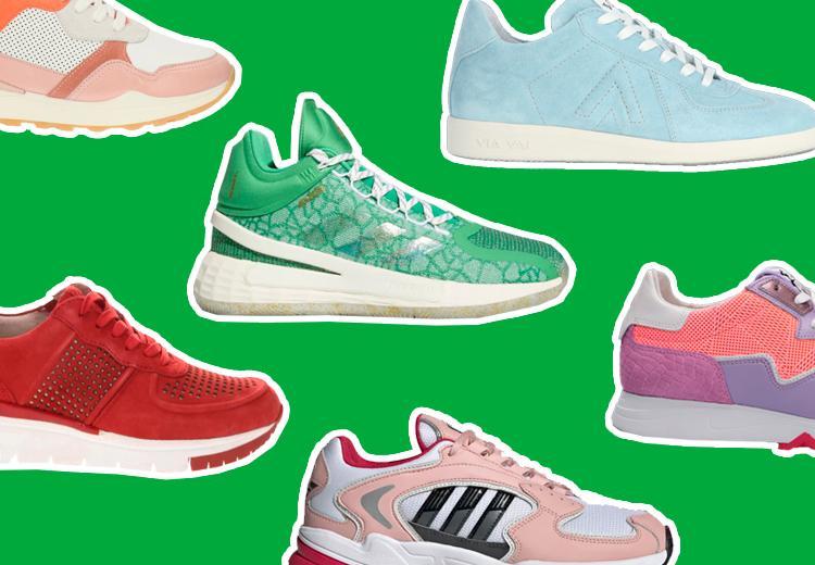 Gekleurde sneakers om blij van te worden