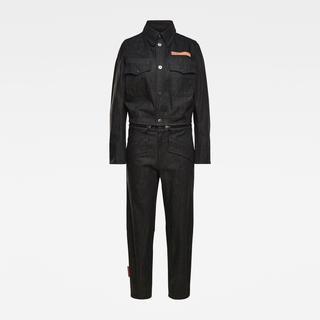 E Moto Uniform Jumpsuit - Loose Fit - Taillehoogte Normaal