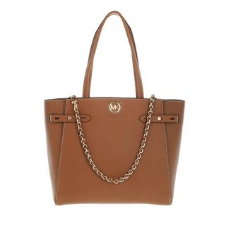 Totes - Large Belted Tote Leather in cognac voor dames