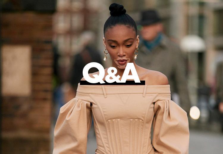 Welke kleding staat mooi met brede heupen?
