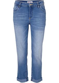 Dames 7/8 jeans in blauw