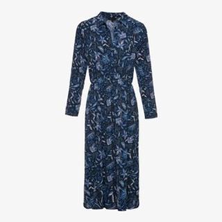 dames maxi blousejurk met paisley print