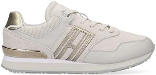 Grijze Lage Sneakers Casual Material Mix City Runne