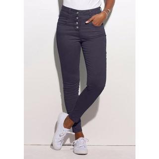 high-waist jeans van superstretch-kwaliteit
