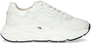 Witte Lage Sneakers Rock-w
