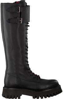Zwarte Hoge Laarzen Groov-y 14201