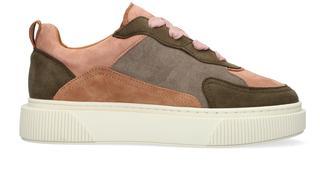 Bruine Lage Sneakers Summit