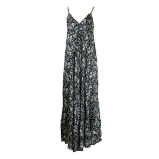 jurk GIR0214 noir & blanc - Zwart