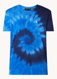 T-shirt met tie-dye dessin