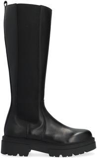 Zwarte Hoge Laarzen R17646-l1184