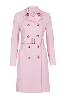 Dames Trenchcoat roze