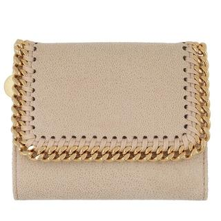 - Falabella Small Flap Wallet in wit voor dames