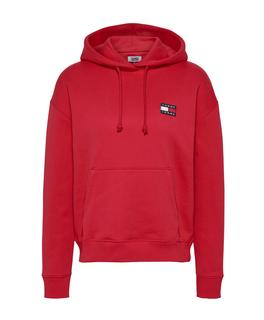 Tommy Jeans Hoodie Rood DW0DW07787