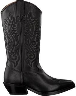 Zwarte Hoge Laarzen Sienna