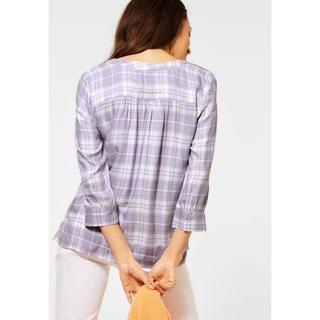 NU 20% KORTING: geruite blouse met geruit patroon