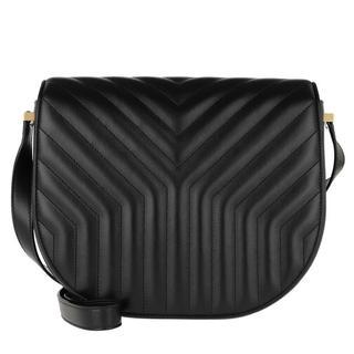 Crossbody bags - Joan Satchel Y-Quilted Leather in zwart voor dames