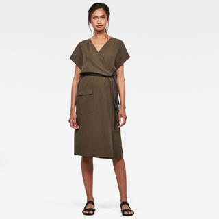 Wrap dress - Straight Fit