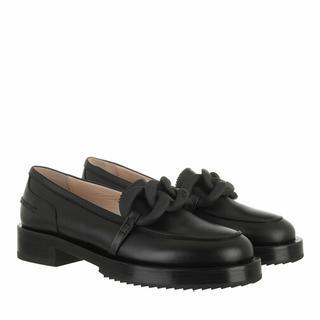 Loafers & ballerina schoenen - Loafer in black voor dames