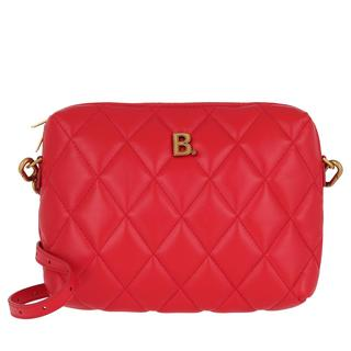 Cross Body Bags - Quilted B Line Camera Bag Bright Red in rood voor dames