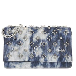 Clutches - Paloma Clutch Leather in blauw voor dames